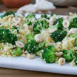 ensalada de couscous y brócoli