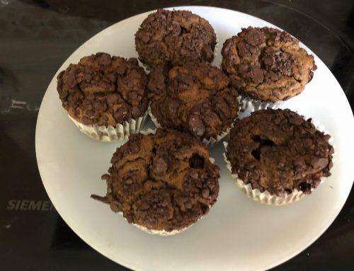 Receta Muffins Sanos Chocolate